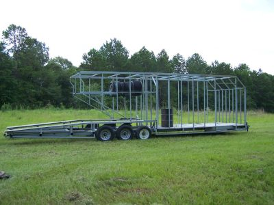 Project 38 ft Open and enclosed trailer