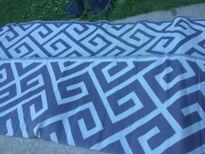 Huge outdoor rug