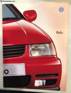 VW Polo Japanese Brochure