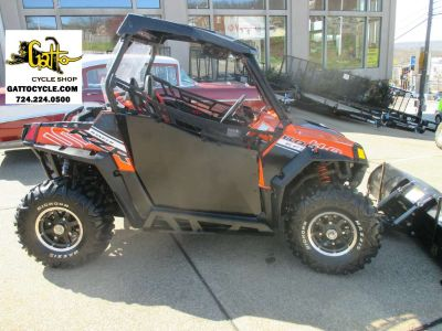 2012 Polaris Ranger RZR S 800 Orange Madness / Black LE Utility SxS Utility Vehicles Tarentum, PA