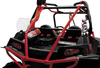 Sell Dragonfire Backbone Bar Red for Polaris Ranger RZR XP 4 900 EPS LE 2013 motorcycle in Hinckley, Ohio, United States, for US $313.55