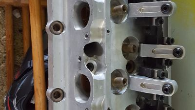 BacMan Billet heads BBC Magnesium Blower manifold