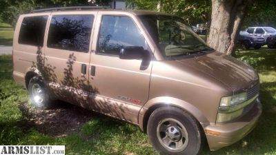 For Sale/Trade: 02 Chevy Astro AWD van