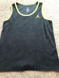 Air Jordan tank top. Boys large LIKE NEW condition