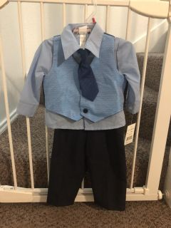 18 month boy suit NWT