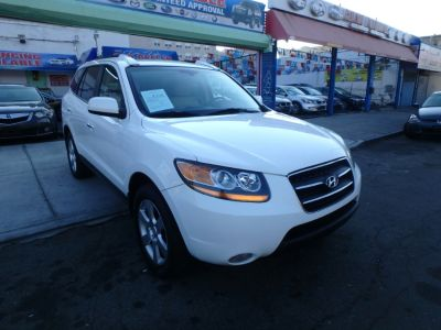 2008 Hyundai Santa Fe Limited (Powder White Pearl)
