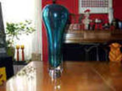 Hand Blown Heavy Galss Vase