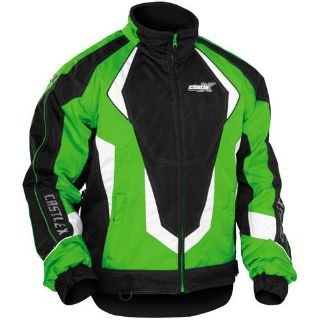 Sell CASTLE X PLATFORM GREEN MEN'S WINTER SNOWMOBILE JACKET X LARGE 70-1748 motorcycle in Saint Paul, Minnesota, US, for US $124.99