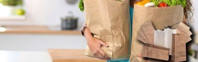 Custom Paper Bags and Kraft Wholesale Bags – iSellPackaging