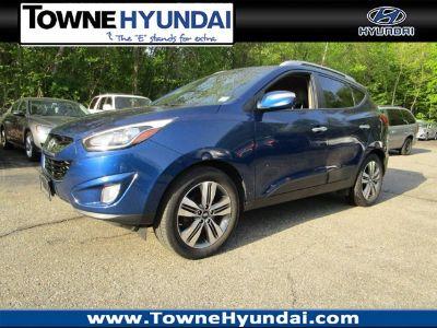 2014 Hyundai Tucson GLS (Laguna Blue Metallic)