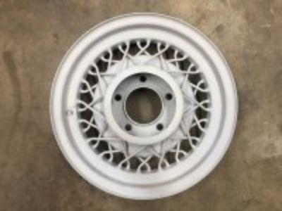 1 Kelsey hayes 16 inch bent spoke wheel