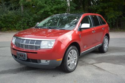 2008 Lincoln MKX Base (Red)