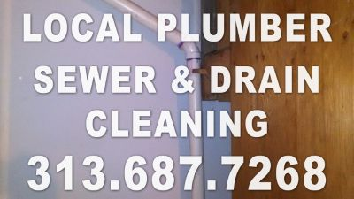 Local Plumber - Sewer & Drain Cleaning (313) 687-7268