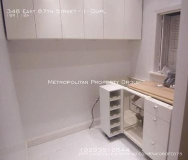 Upper East Side - 1 Bedroom Duplex With Private Garden