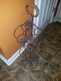 Pier 1 / Iron Wine Rack Holder