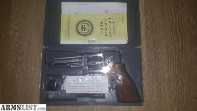 For Sale: NIB Ruger GP 100 Match Champion Stainless .357