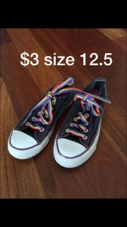 Girls gym shoes size 12.5