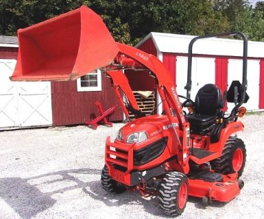 2013 Kubota BX2370 Mower and Loader