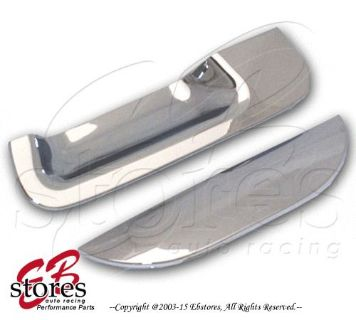Purchase Chrome Plated Tailgate Handle Cover Ford F-250-F-550 SD 97-03 (W/O Keyhole) motorcycle in La Puente, California, United States
