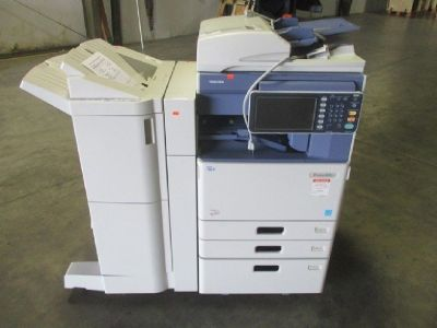 Toshiba e-STUDIO 4555C Color MFP Copier/Printer RTR# 8073702-01