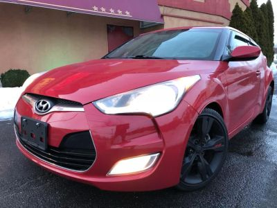 2012 Hyundai Veloster Base (Boston Red Metallic)