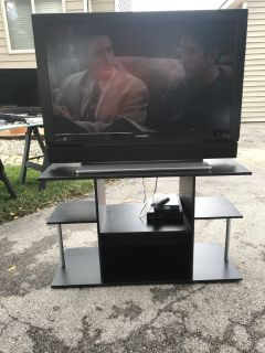 42 inch flat screen tv with stand