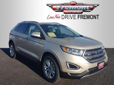2018 Ford Edge SEL AWD (White Gold Metallic)