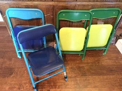 Kids Only brand Playtime folding chair - LOT of 4 ($30)