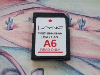 Buy 2011 - 2015 Ford Lincoln Navigation A6 SD card FM5T-19H449-AA iSYNC motorcycle in Oak Forest, Illinois, United States