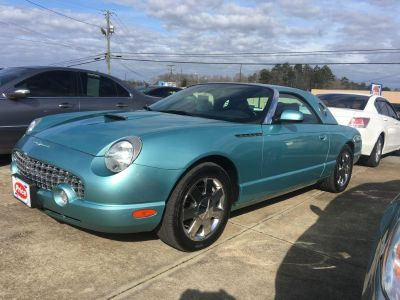 2002 Ford Thunderbird Deluxe (Turquoise)