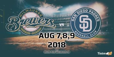 Milwaukee Brewers vs. San Diego Padres at Milwaukee-Tixtm.com
