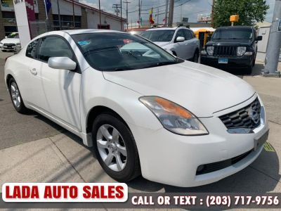 2008 Nissan Altima 2.5 S (Winter Frost Pearl)