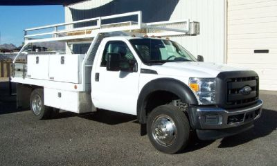 2013 Ford F450 Contractor Body