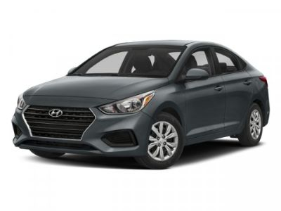 2018 Hyundai Accent SE (Pomegranate Red)