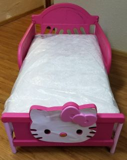 Hello kitty toddler bed with mattress