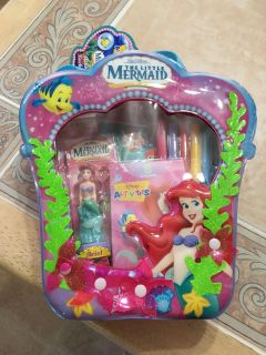 The Little Mermaid Activity Back