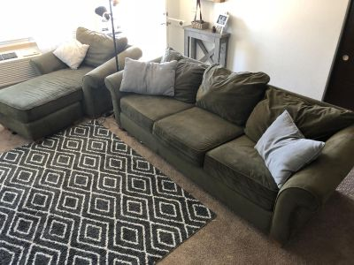 COUCH; 3 seat, 1 seat, sectional