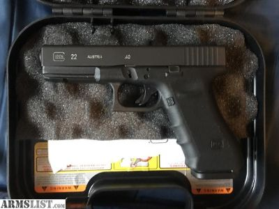 For Sale: Glock 22 Gen 3