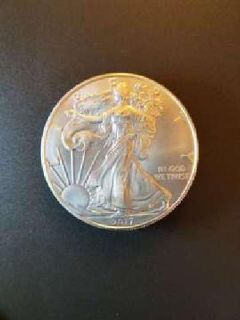 2017 American Silver Eagle, Uncirculated in case