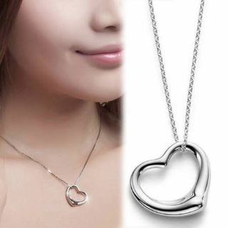 ***BRAND NEW Heart Pendant With Silver Chain***