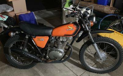 1974 Honda XL 175