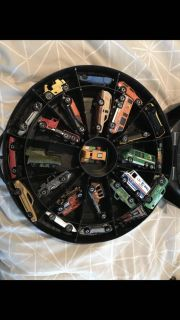 Vintage HotWheels Cars and case