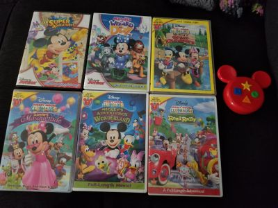 Mickey Mouse Clubhouse DVD lot