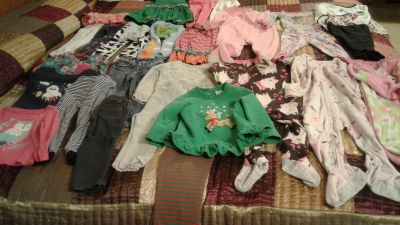 Girl's size 24mo/2T excellent condition clothing all for $20