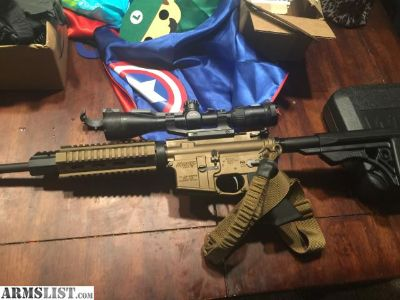 For Sale: Cerekoted ar15 with extras