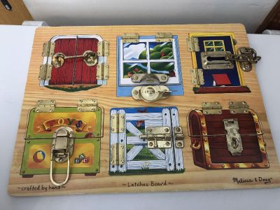 Melissa and Doug latches Puzzle