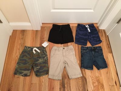 Size 4t Shorts Lot. Carter s, Cat & Jack & Old Navy. New with Tags, Washed, Never Worn & Excellent Condition.