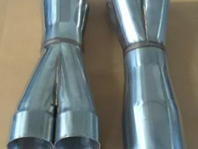 New! Stainless Steel merged collectors