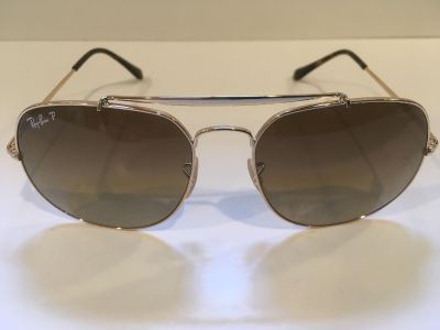 Sunglasses * Rayban Polarized General Aviator * Brown Lenses