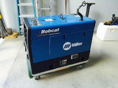 $1,500, Like new 2016 Miller Bobcat Welder 250 EFI Welder  Generator 100leads-2 Hours